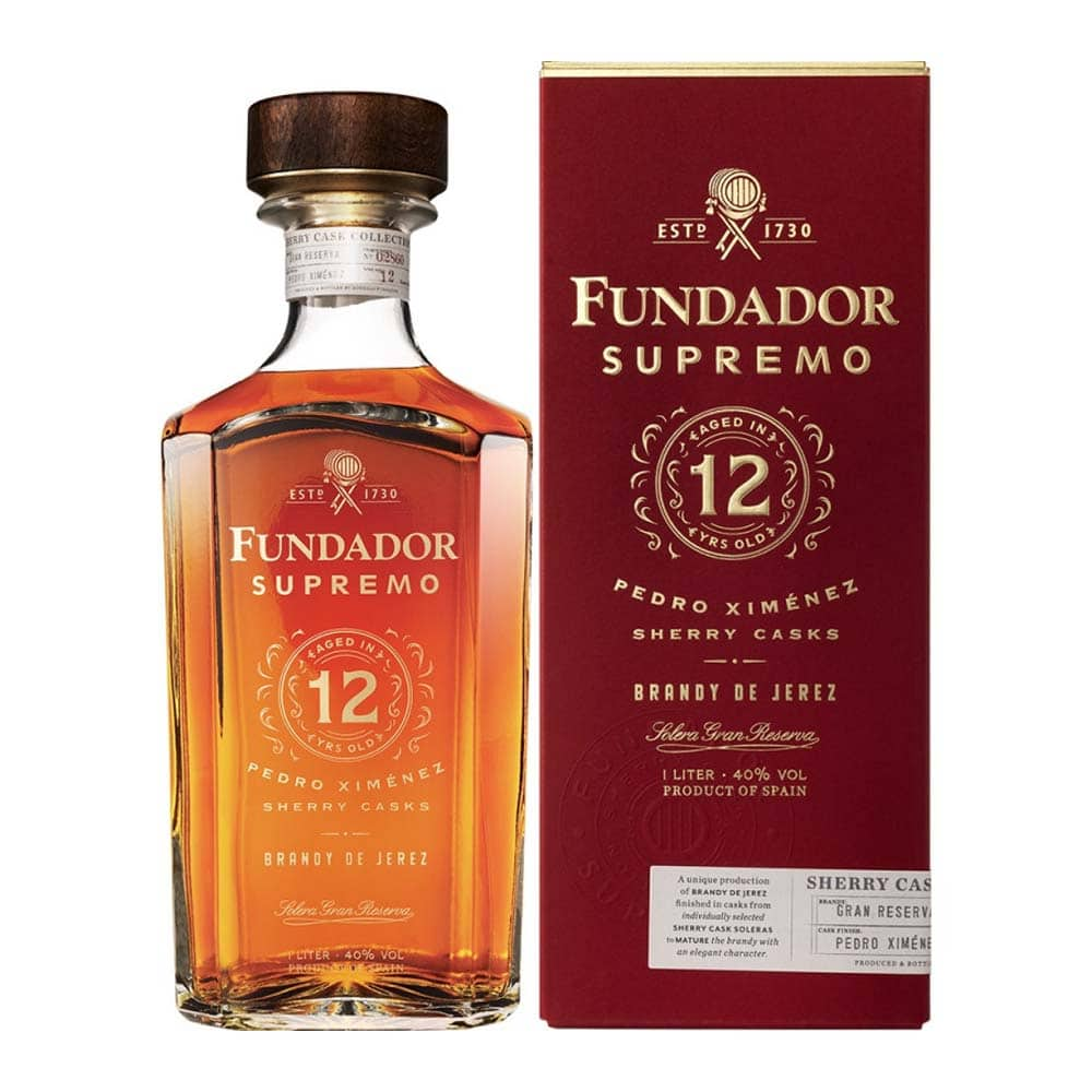 brandy fundador supremo 12
