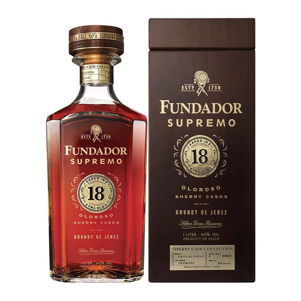 brandy fundador supremo 18